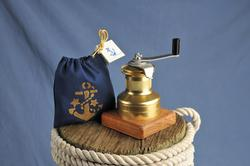 Gold Winch Pepper Mill